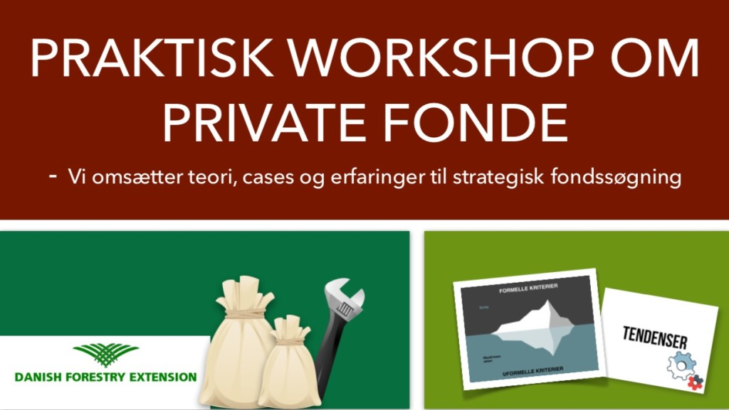 Praktisk workshop om private fonde